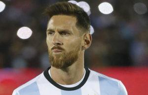 Messi sudah bersara