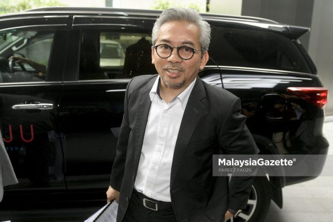 Ketua Pegawai Eksekutif Unie Peneraju Agenda Bumiputera (TERAJU), Datuk Husni Salleh ketika hadir di Menara ILHAM, Kuala Lumpur. foto FAREEZ FADZIL, 30 MEI 2018