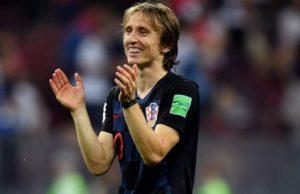 Luka Modric. Foto Skysports.