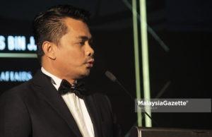 Timbalan Menteri Dalam Negeri, Datuk Mohd Azis Jamman.