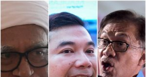 Abdul Hadi diasak bertubi-tubi oleh Rafizi dan Anwar berhubung cek RM1.4 juta kepada Clare