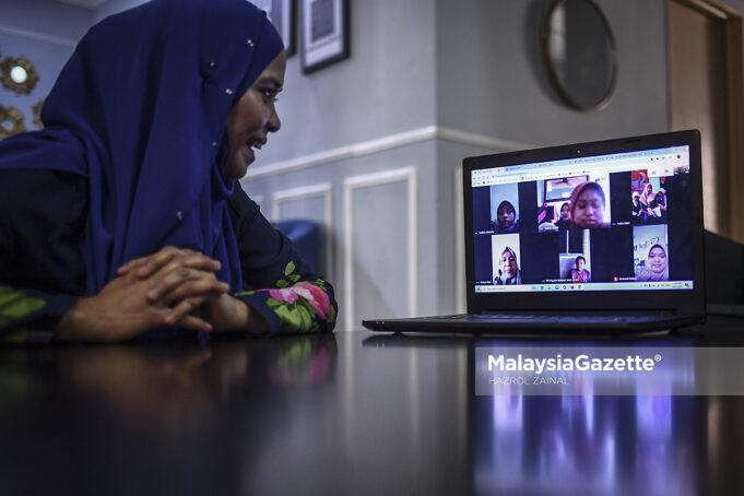 Pembelajaran dalam talian: Kerja sepasukan ibu bapa, guru