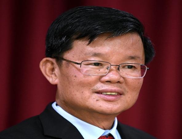 Ketua Menteri Pulau Pinang 2020